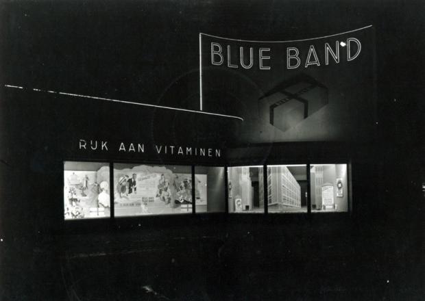 Francois Henri van Dijk Coolsingel Rotterdam jaren dertig Blueband avond go with the vlo 2