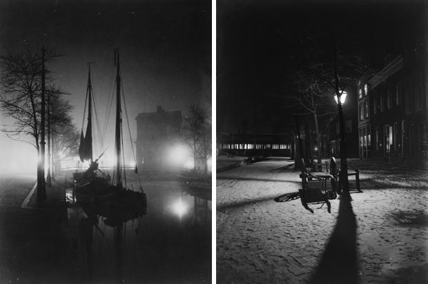 Henri Berssenbrugge Delftse Poort Wolfshoek Rotterdam 1912 avond go with the vlo