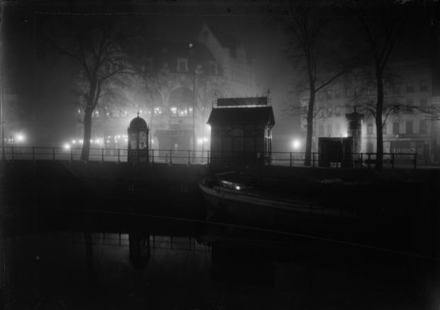 Henri Berssenbrugge Hofplein Rotterdam 1912 avond go with the vlo