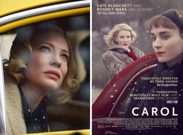 Carol film Cate Blanchett Rooney Mara go with the vlo