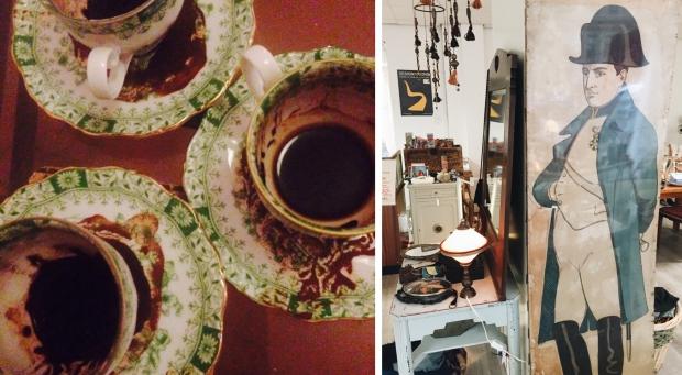 Emporium of Wonders Napoleon vintage koffiedik go with the vlo