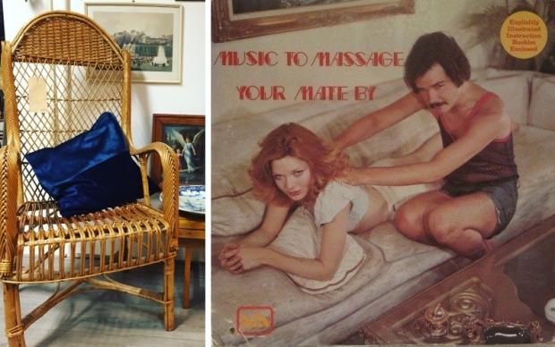 Emporium of Wonders massage stoel vintage go with the vlo