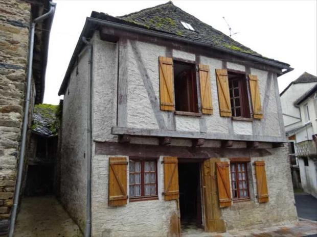 Frankrijk Aveyron huis te koop Valentijnsdag go with the vlo