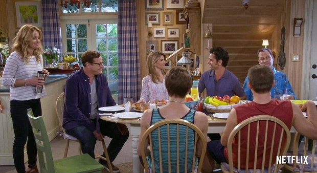 Full House eettafel familie serie terug go with the vlo