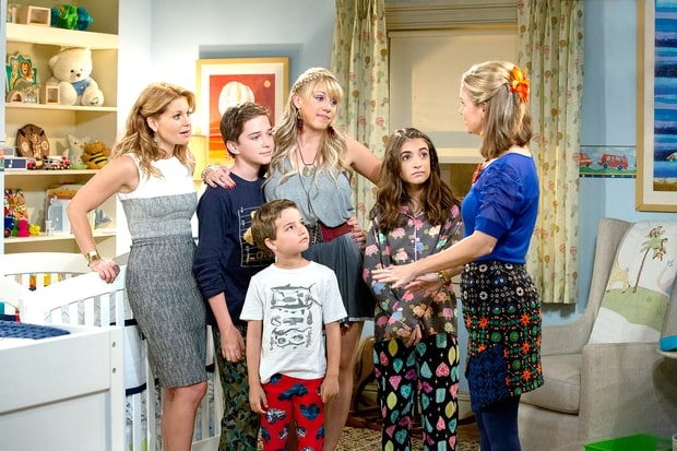 Fuller House Full House nieuwe serie kinderen go with the vlo