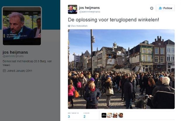 Grap burgemeester Weert gebouw Den Bosch go with the vlo
