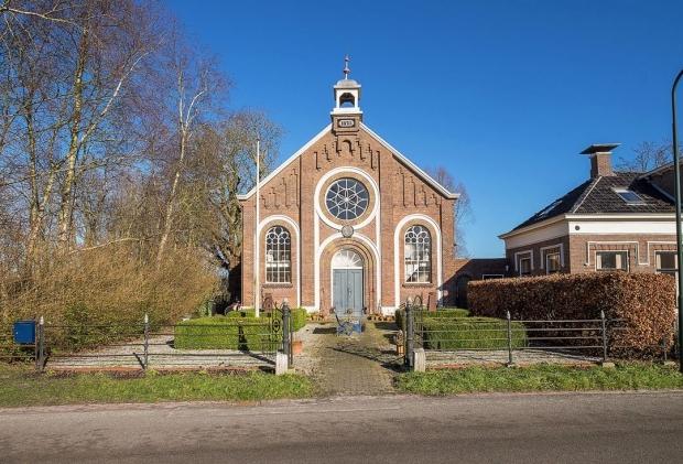 Opknappertje Groningen oude kerk woning weg go with the vlo