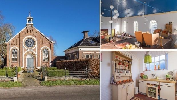 Pieterburen Groningen kerkje te koop wonen go with the vlo