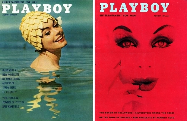 Playboy oude covers sjiek sexy go with the vlo rood fifties