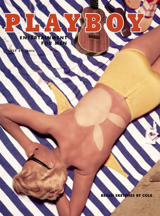 Playboy vintage covers mooi strand go with the vlo