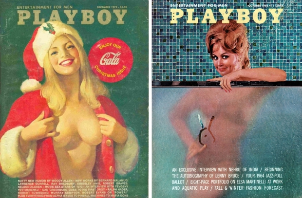 Playboy vintage covers vrouwen naakt go with the vlo