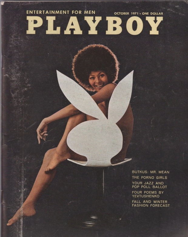 Playboy vintage logo bunny tijdschrift go with the vlo