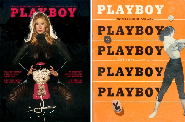 Playboy vintage magazines covers 1972 go with the vlo