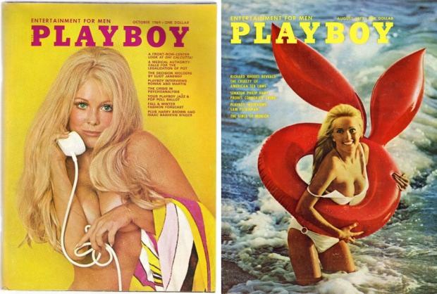 Playboy vintage strand retro zee go with the vlo telefoon
