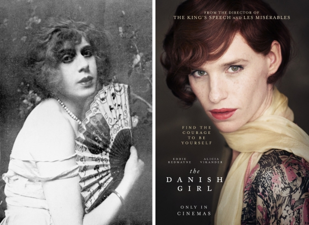 The Danish Girl Lili Elbe film transgender go with the vlo