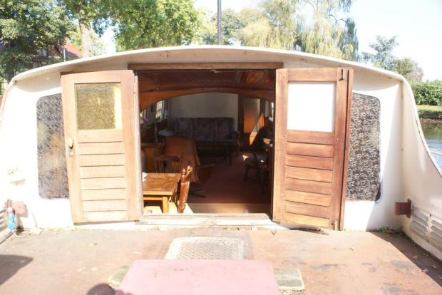 Woonboot deuren interieur wonen go with the vlo