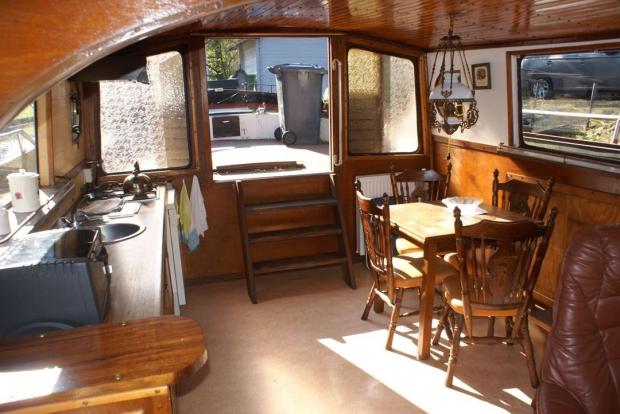 woonboot keuken wonen interieur go with the vlo zon