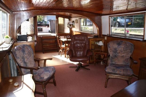 Woonboot stoelen woonkamer wonen lelijk go with the vlo