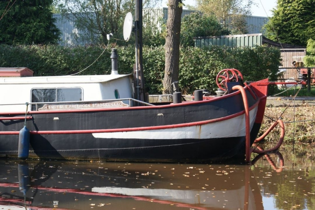 Woonboot voorplecht Titanic wonen go with the vlo