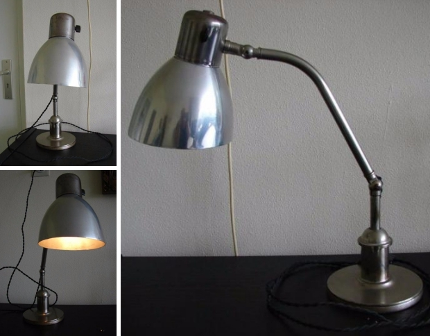 Art deco bureaulamp go with the vlo