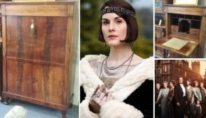Voordeeltje: een secretaire à la Downton Abbey