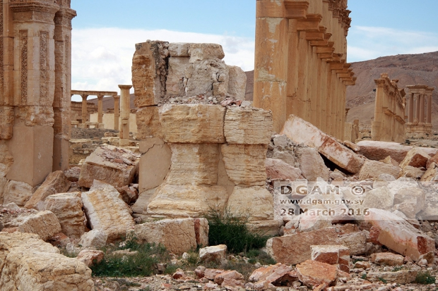Palmyra ruine go with the vlo