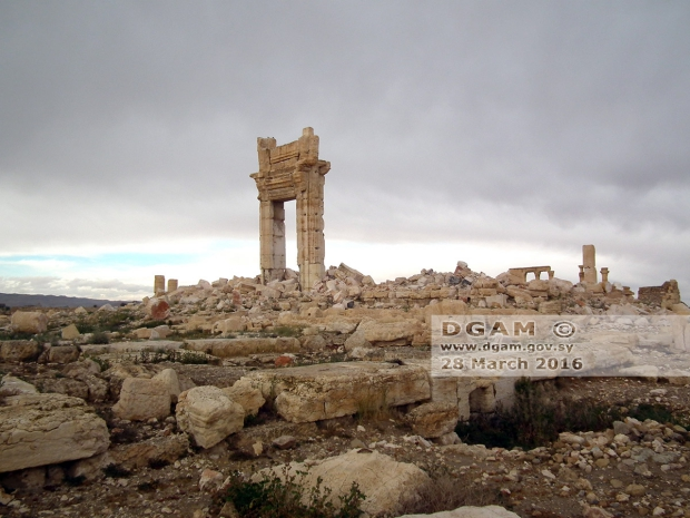 Palmyra tempel Bel go with the vlo