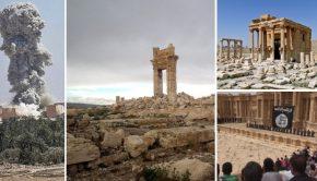Wat er overbleef van Palmyra, de eerste beelden