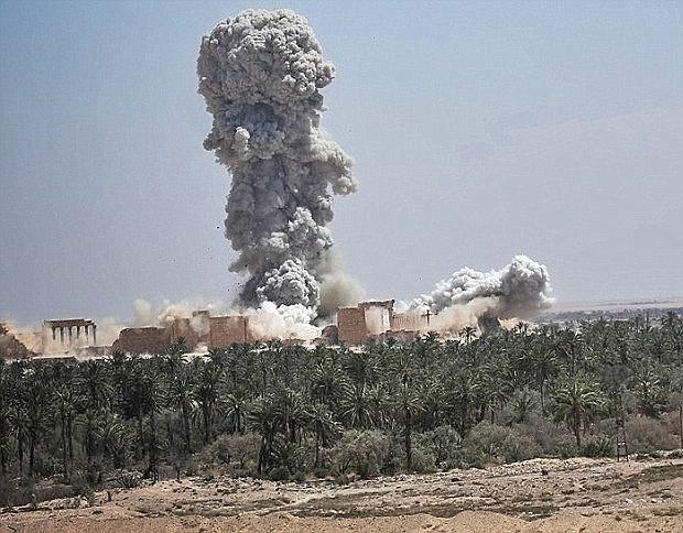 Palmyra verwoesting