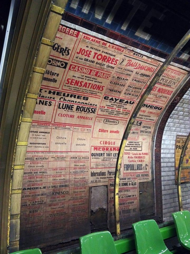 Parijs metro posters go with the vlo 20