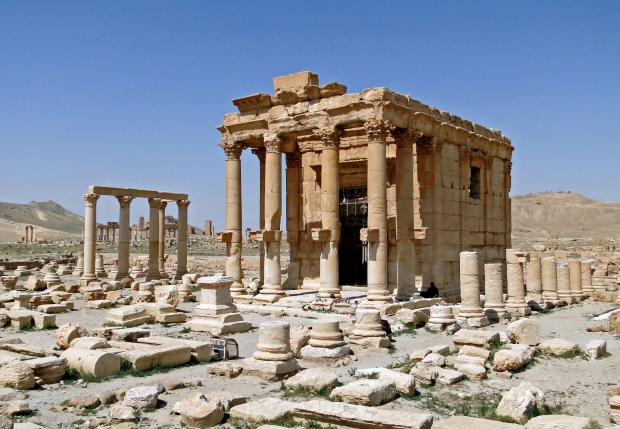 Tempel Palmyra go with the vlo