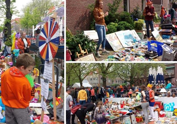 Delft vrijmarkt go with the vlo
