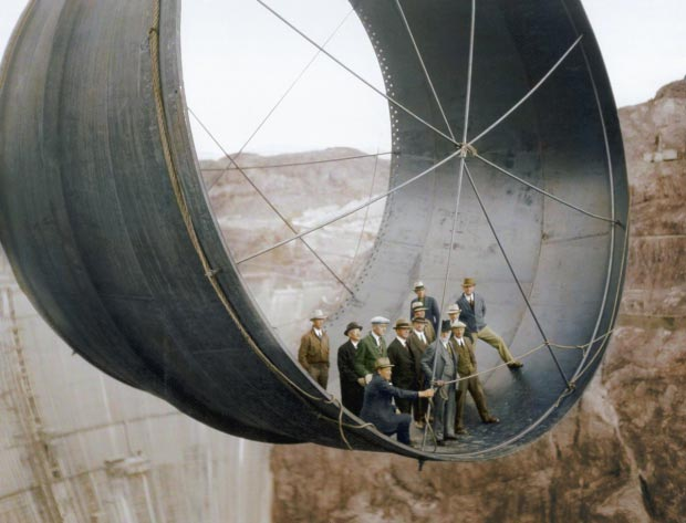 Hoover Dam bouw go with the vlo 2