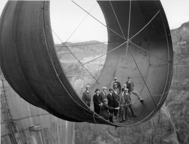 Hoover Dam bouw go with the vlo