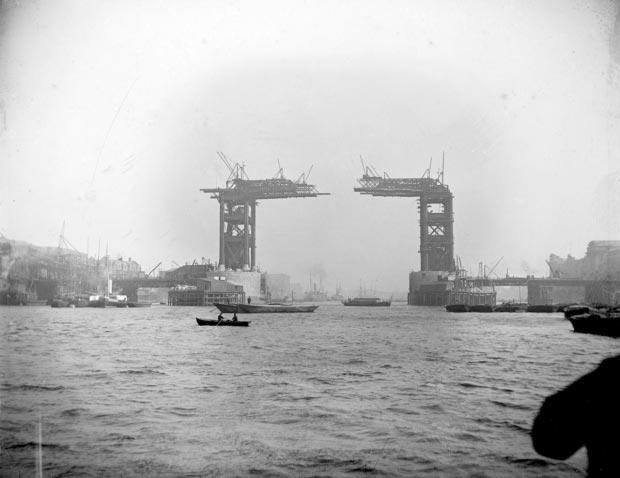 London Bridge bouw go with the vlo