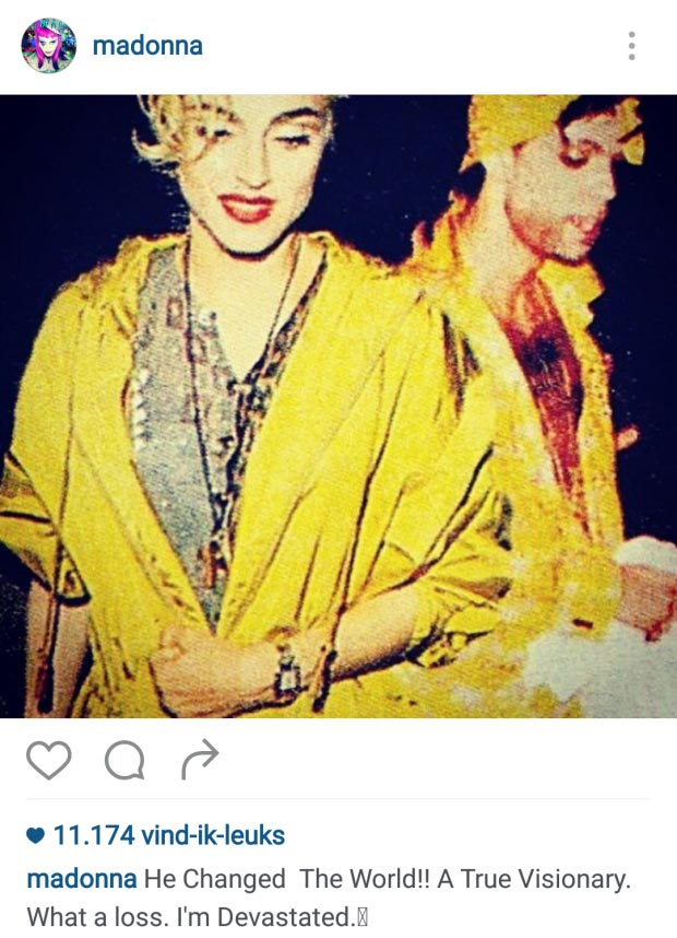 Madonna Prince go with the vlo