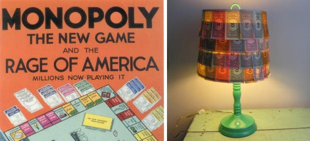 Monopoly lamp go with the vlo 7