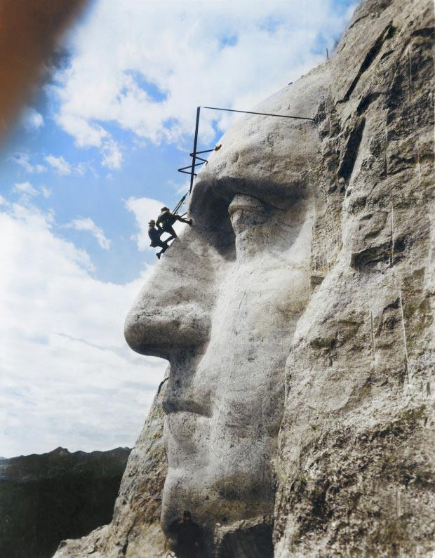 Mount Rushmore bouw go with the vlo 2
