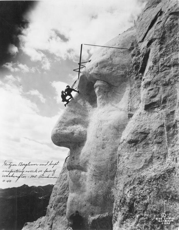 Mount Rushmore bouw go with the vlo