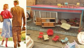 Retro bungalow voor dwergdiva's