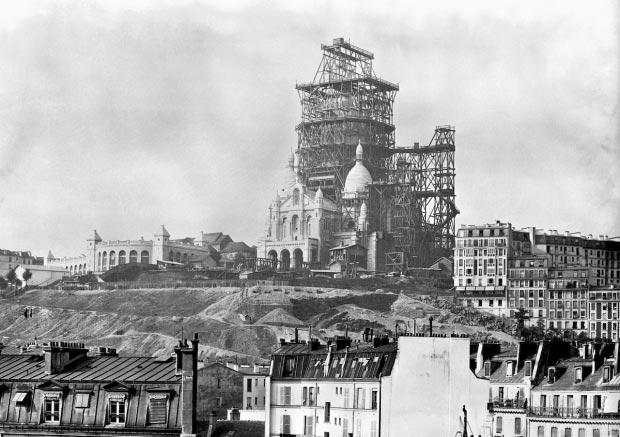 Sacre Coeur bouw Parijs go with the vlo