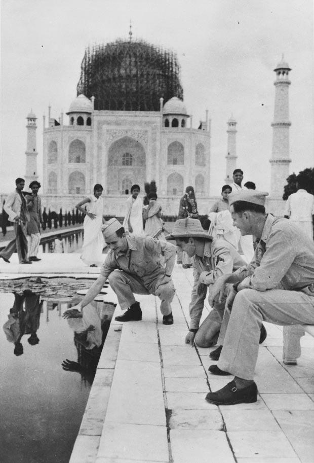 Taj Mahal oorlog go with the vlo