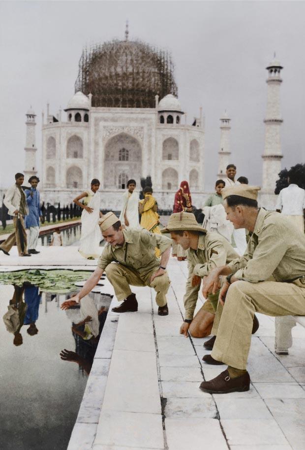 Taj Mahal oorlog kleur go with the vlo