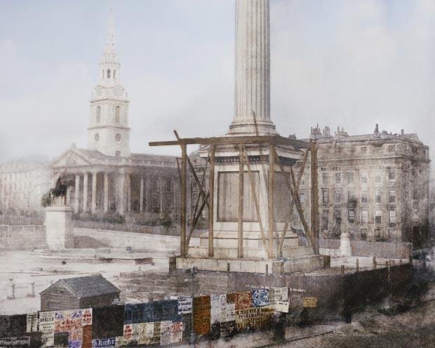 Trafalgar Square bouw go with the vlo