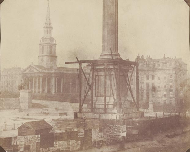 Trafalgar Square go with the vlo