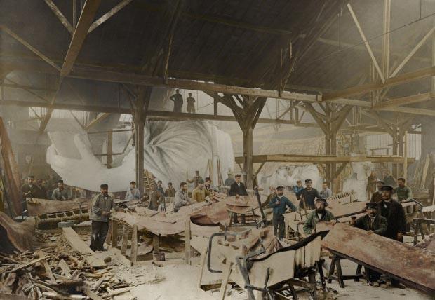 Vrijheidsbeeld bouw go with the vlo 2
