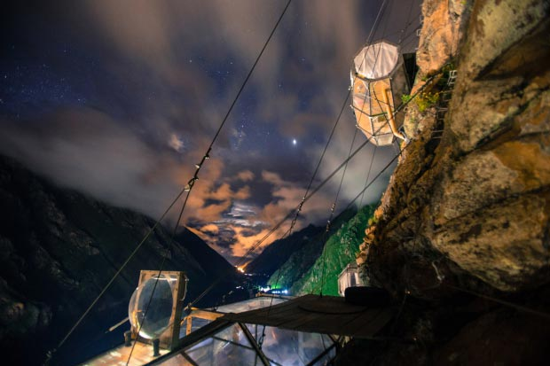 Skylodge Adventure Suites Peru go with the vlo 3