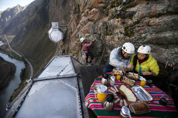 Skylodge Adventure Suites go with the vlo 10