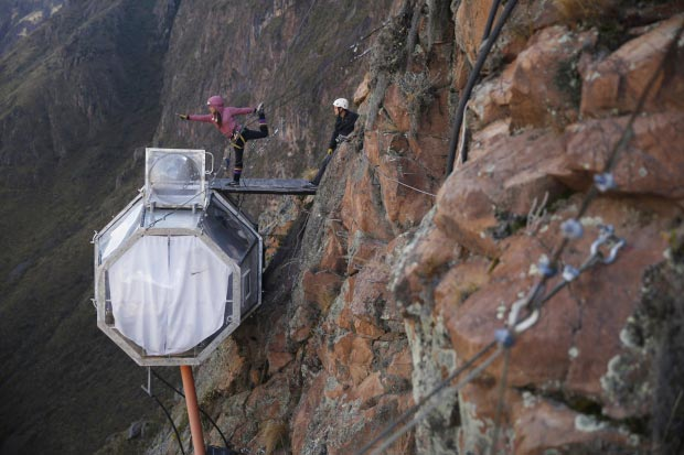 Skylodge Adventure Suites go with the vlo 15
