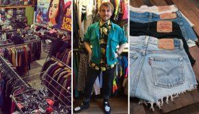 Zipper opent een pakhuis vol vintage kleding